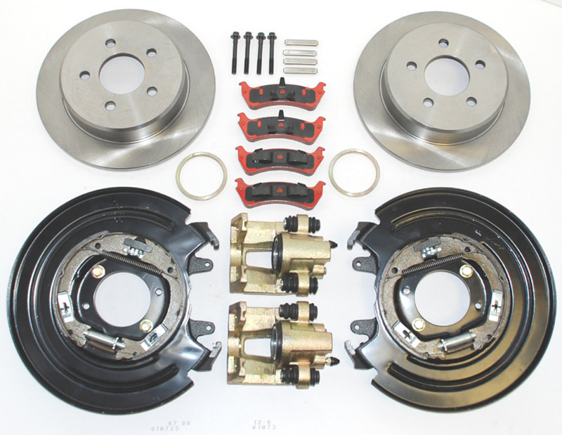 Steering and Brakes for Hot Rods and Street Rods